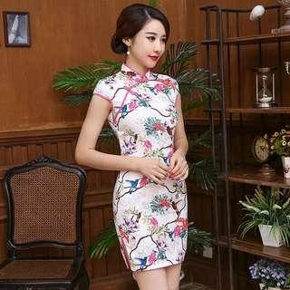 🚚 Instock Cheongsam Dress CNY Qipao