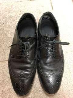 Cole Hann 黑色皮鞋 us9