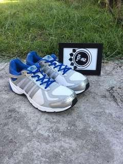 💎adidas Duramo Trainers Running Shoes White Blue Silver Run S82632💎