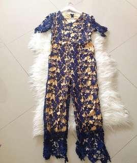Lace jumpsuit import bangkok