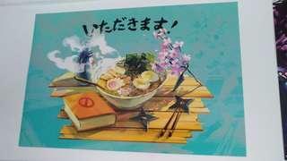 Naruto Ramen A3 Poster