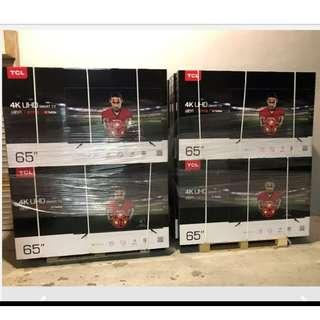 "🚚 Limited stock! Brand new 65 "" inches TCL Smart TV LED Model 65P6US"