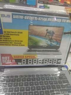 Laptop Asus A407UF i5 bisa cicilan tanpa kartu kredit Dp Ringan
