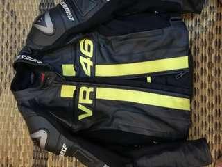 Full leather jacket vr46