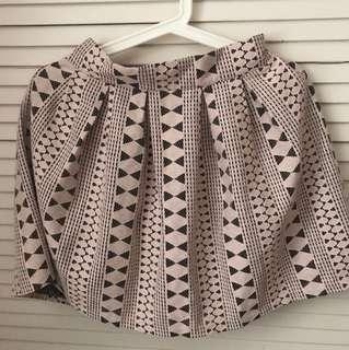 粉色lace 半截裙made in Korea