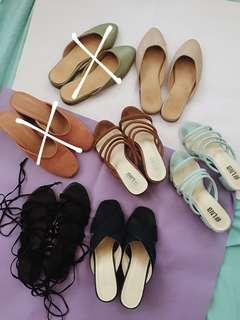 [REPRICED] Shoe Set for Size 7