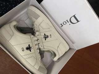 Christian Dior CD white sneakers size 7 men or eu 40