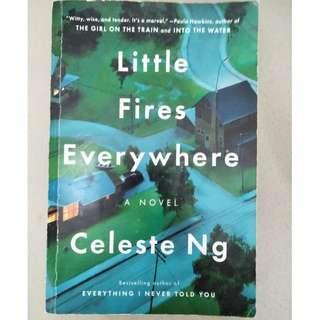 Novel Little fires everywhere-Celeste Ng