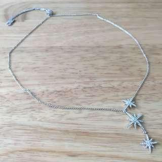 APM Monaco Triple meteorites necklace