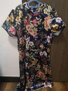 Floral cheong Sam
