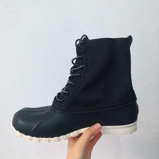 🚚 出清_Native黑色高筒靴雨靴