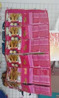 泰國米袋及寵物糧食袋改裝而成的Handmade信袋/儲物袋