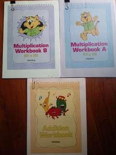 🚚 Brand new Shichida Addition & Multiplication workbooks