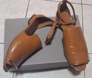 Flat Shoes Charles n Keith Coklat