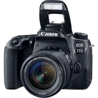 Canon EOS 77D KIT EF-S 18-55mm IS STM Bisa Cicilan Tanpa Kartu Kredit
