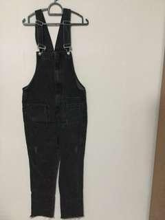 Denim Jumpsuit (Black)