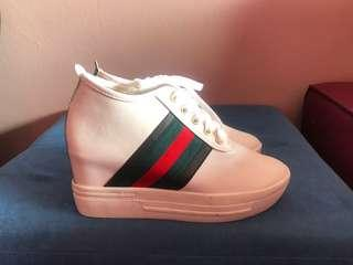 Inspired gucci Sneakers wedges