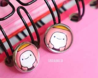 [NEW] Adventure Time (Princess BubbleGum) Earrings / anting