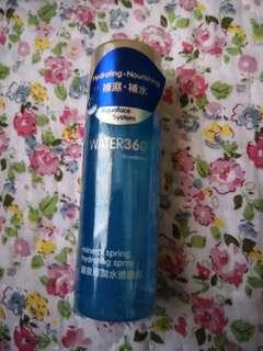 Mineral spring hydrating spray