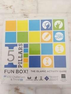 5 Pillars Fun Box - Islamic Activity Game