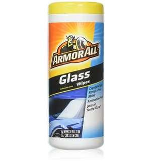 🚚 Armor All Glass Wipes (25 ct.)