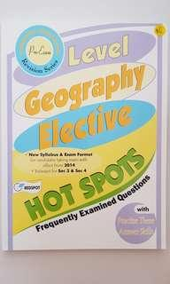 O Level Geography Elective Hot Spots