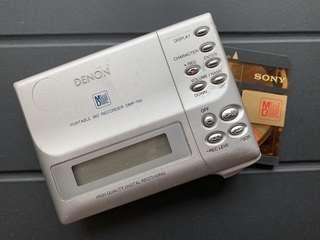 Demon DMP-R50 錄音MD機,連火牛