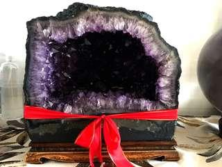 Nice high quality amethyst cave