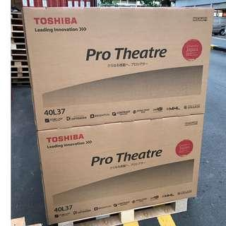 "🚚 Brand New Toshiba 40"" - 40L3750VE CNY sale"