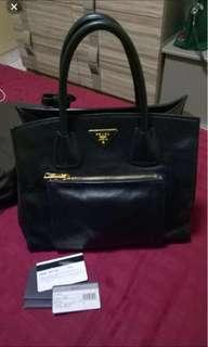 Prada bag vitello daino open for trade