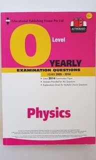 Physics O Level Yearly Exam Questions