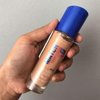 Rimmel Match Perfection Foundation in Sand