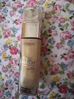 Loreal True Match Foundation g1 gold ivory 95%