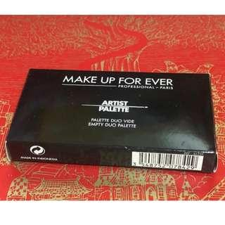 MAKE UP FOR EVER EMPTY DUO PALETTE(包郵費)