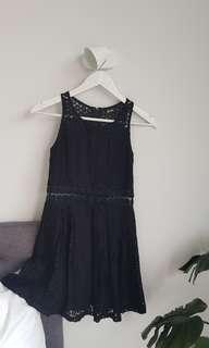 Black sun dress