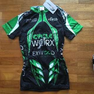 Cycling Jersey in green