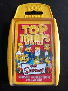 🚚 The Simpsons Top Trumps