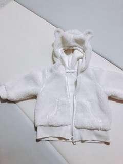 🚚 Lativ 熊熊毛毛外套❤️ 70cm