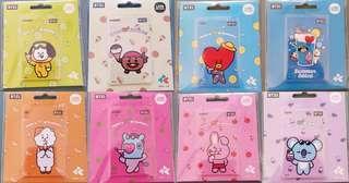 BT21 Taiwan iPass card