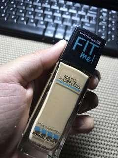 Maybelline fit me shade 220