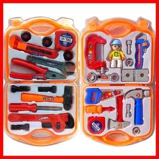 CUTE Work Man Boxed Engineering Tools Set Role Play