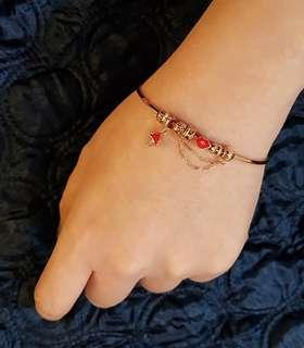 18k Rosegold Charm Bangle