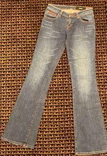 Boot leg jeans sz xs