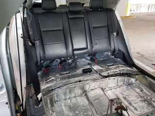 Toyota Altis Floorboard Soundproofing
