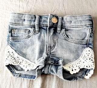 H&M Baby's denim shorts 6-9 months