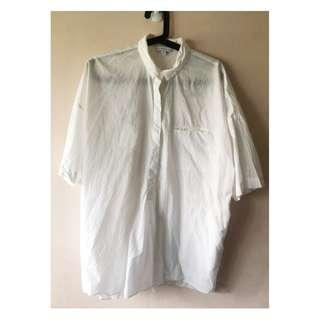 & Other Stories White Button Down Shirt