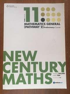 New Century Maths - Mathematics General (Pathway 2) Preliminary Course