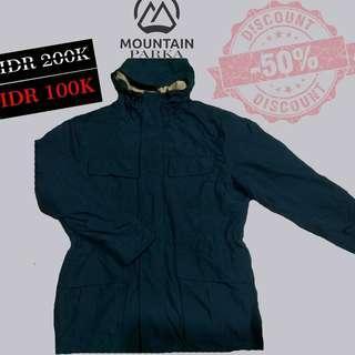 Jaket second original jaket parka jaket gunung