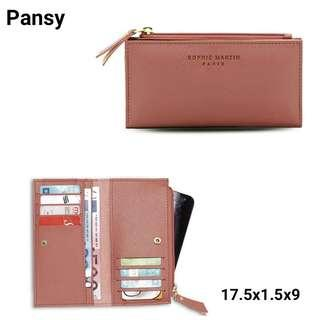 Pansy wallet Sophie Martin