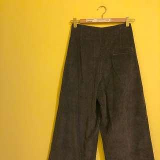 🚚 專櫃2%燈芯絨直筒寬褲